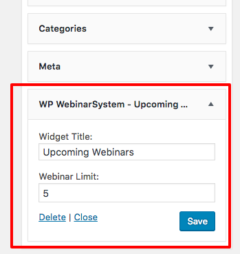 WPWS upcoming webinar on widgetarea backend - 5 limit annotation