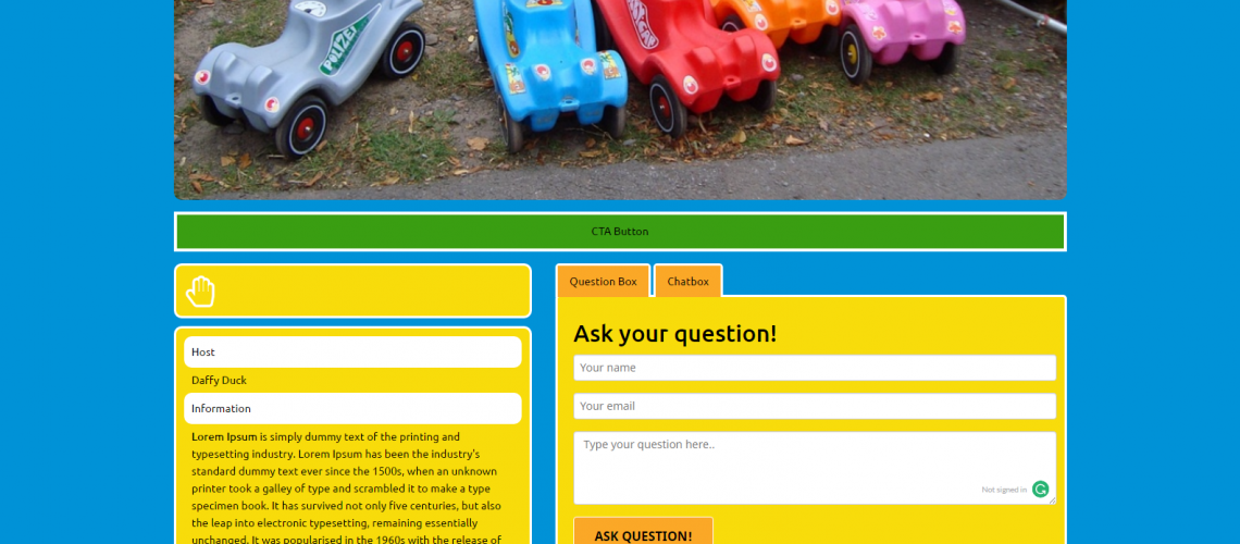 KidsPlay Live Page